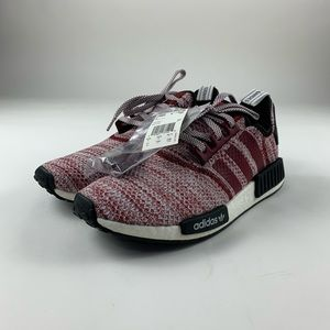 Adidas NMD_R1 Burgundy Athletic Shoes D97230